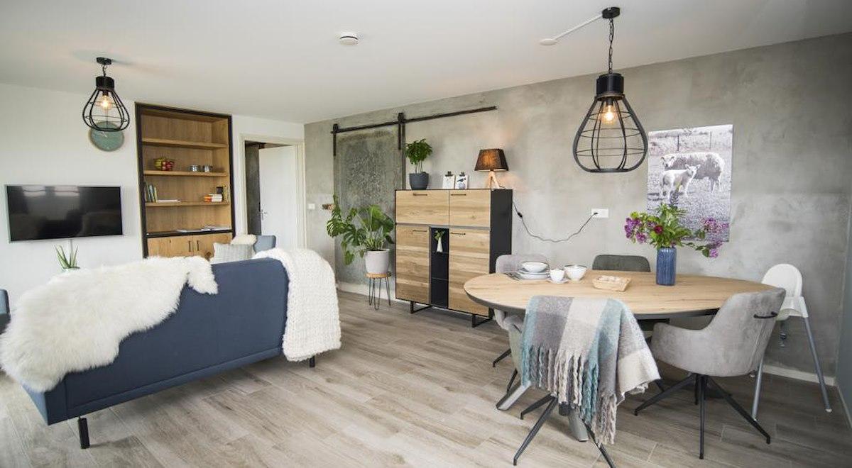 moderne woonkamer/keuken